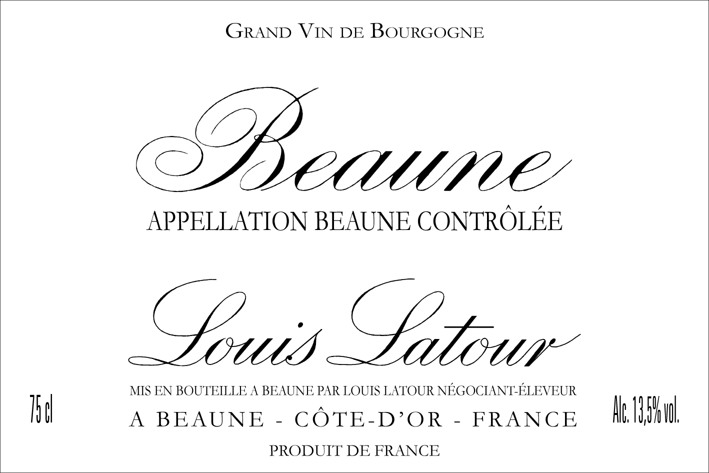 Louis Latour Beaune Rouge