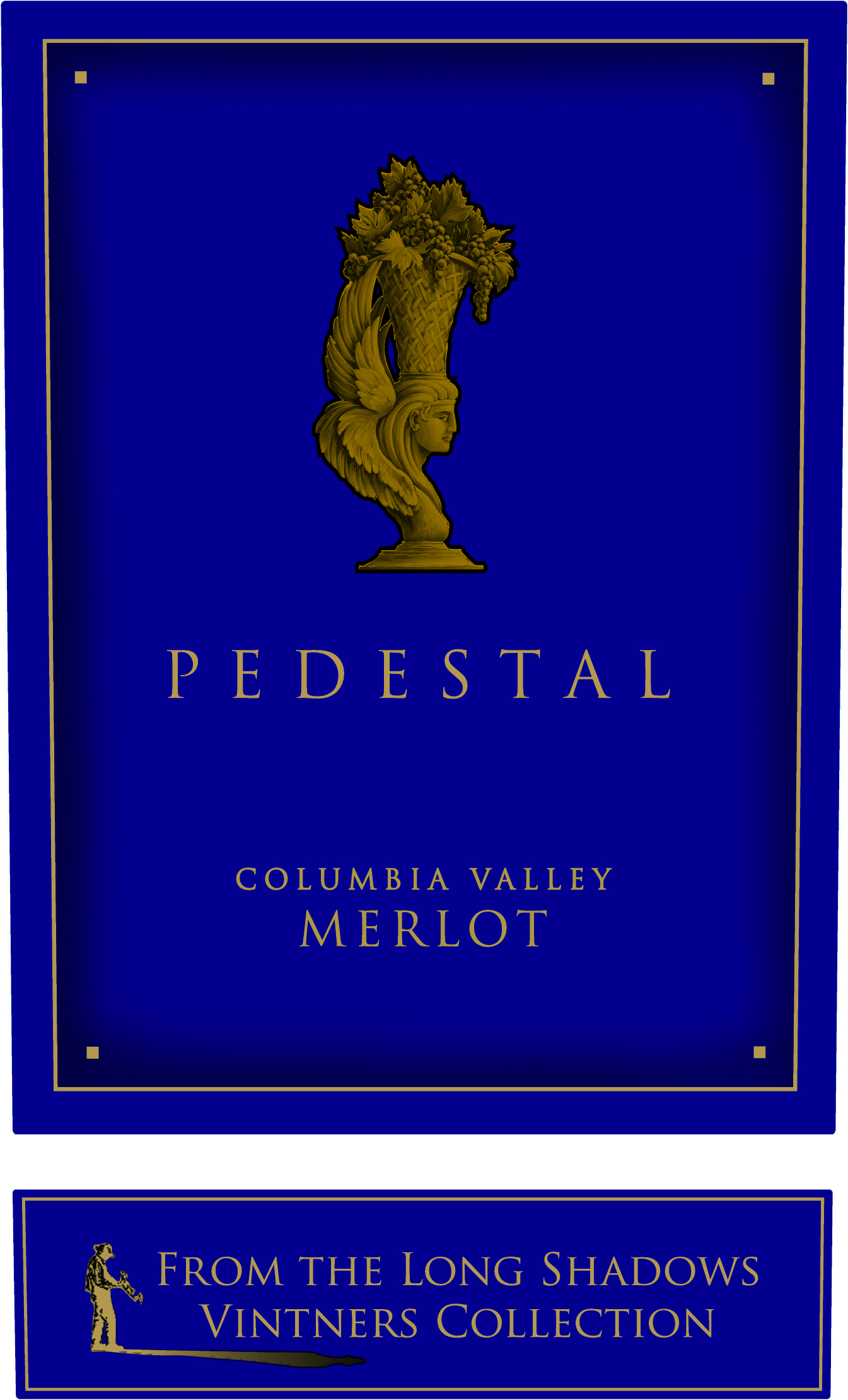 2015 Long Shadows Winery Merlot Pedestal