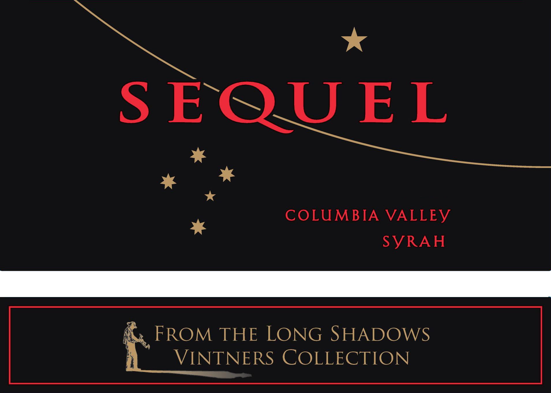2015 Long Shadows Winery Syrah Sequel