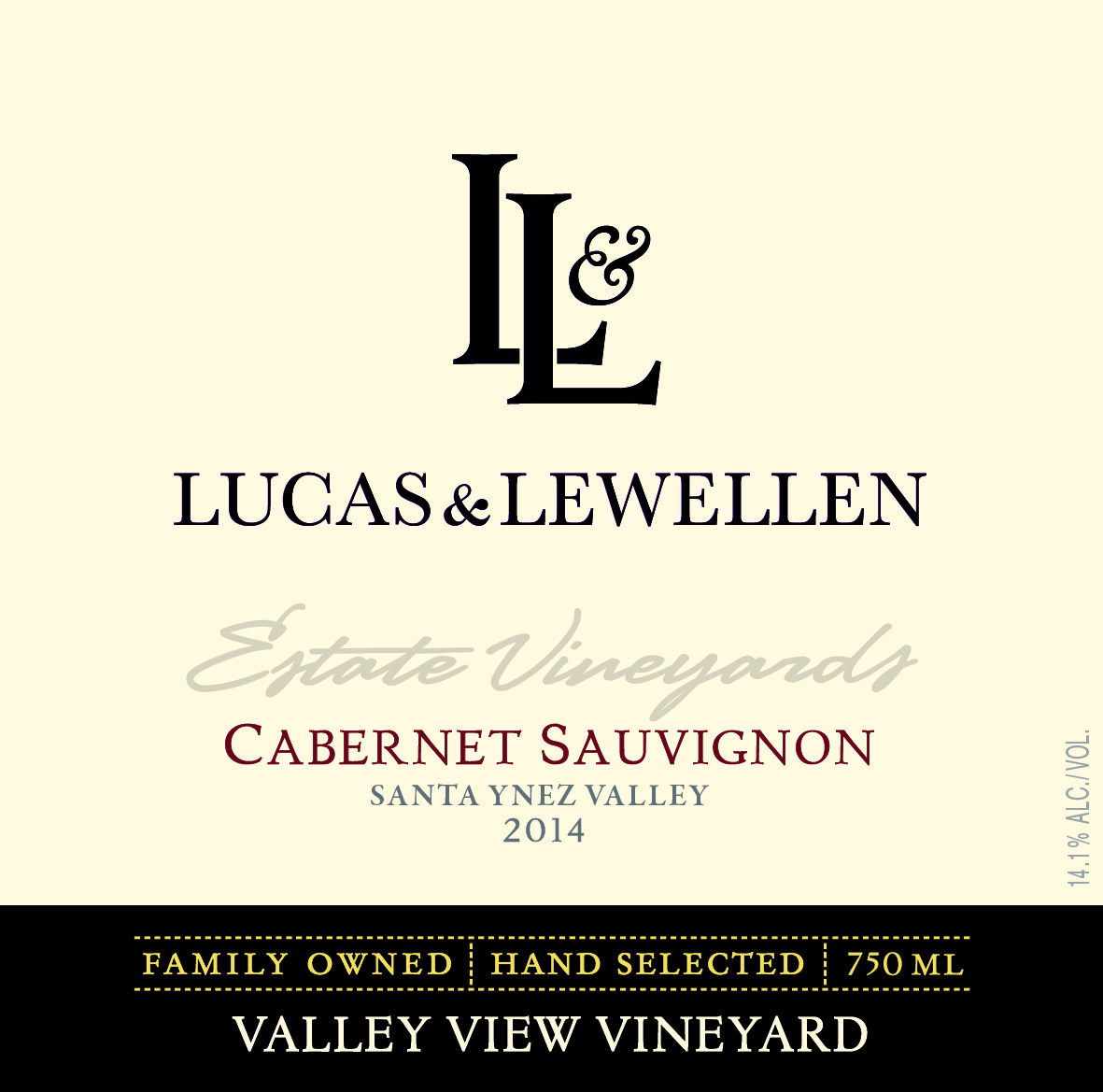 Lucas & Lewellen Cabernet Sauvignon Valley View Vineyard