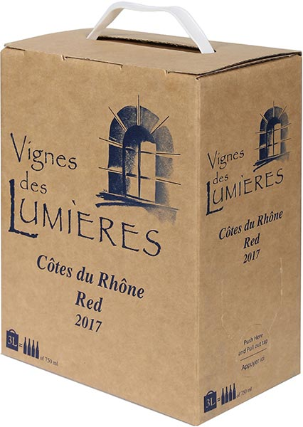 Clos des Lumieres Cotes-du-Rhone Rouge Bag in Box 3.0 L