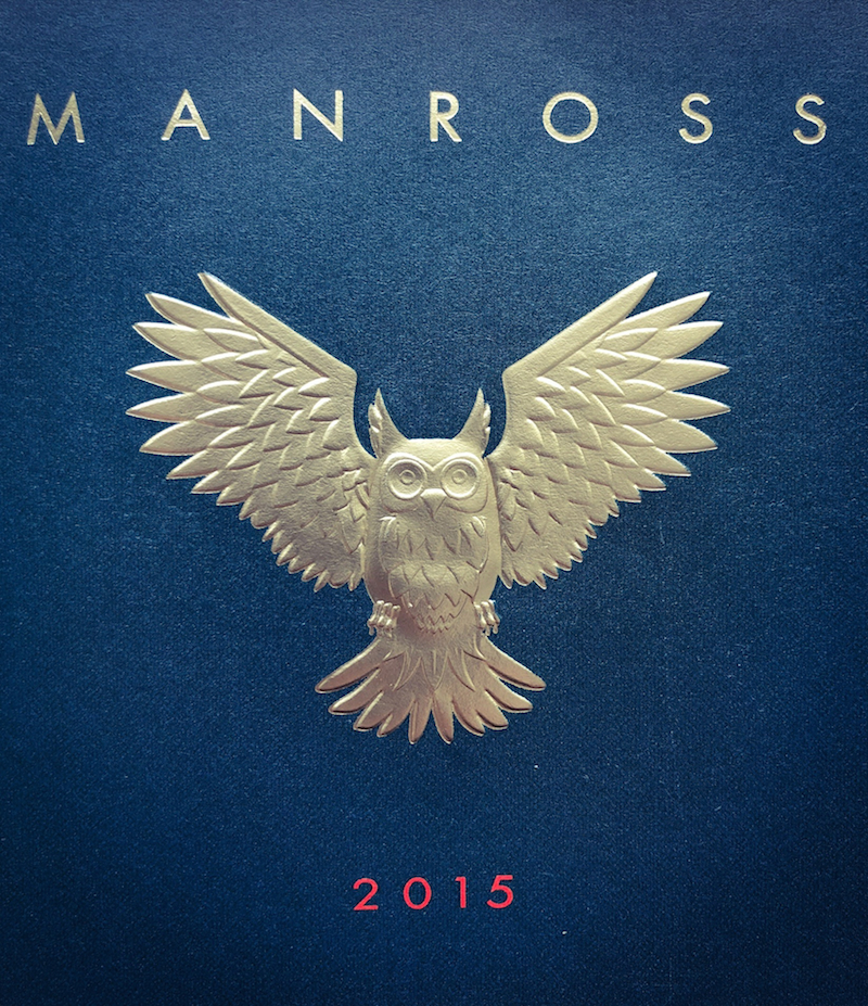 2015 Manross Pinot Noir Hawk's View Vineyard