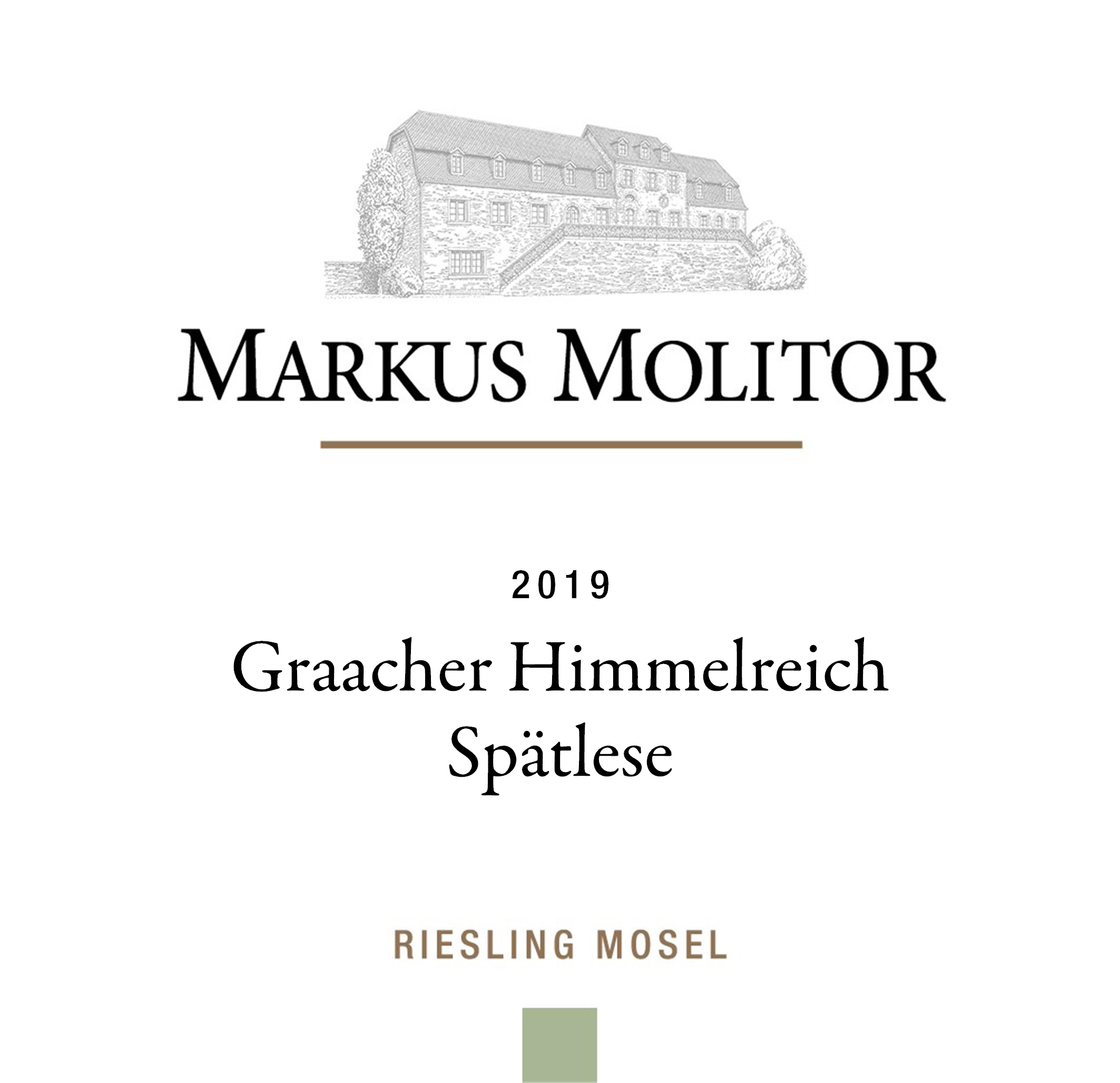 2017 Markus Molitor Graacher Himmelreich Riesling Spatlese (Green Capsule)
