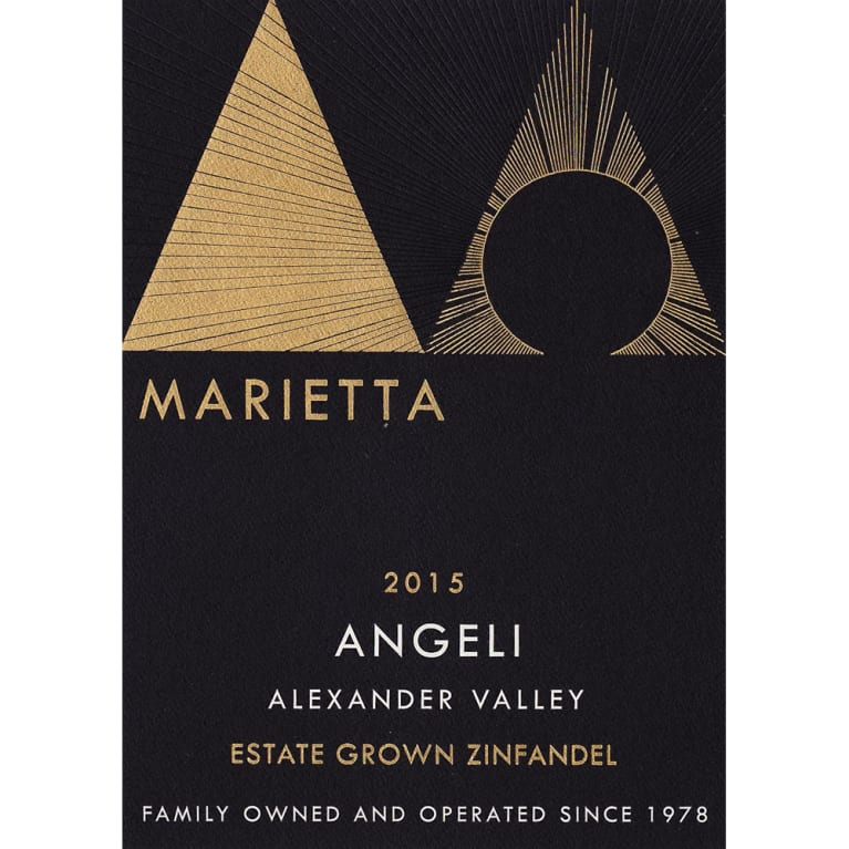 2015 Marietta Cellars Angeli Estate Grown Zinfandel