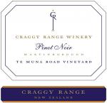 2010 Craggy Range Winery Pinot Noir Te Muna Road Vineyard