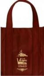 Los Angeles Wine Company Six Bottle Cloth Wine Tote