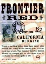NV Frontier Red Blend Lot #122 By Fess Parker