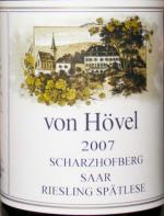 2007 Von Hovel Scharzofberg Riesling Spatlese