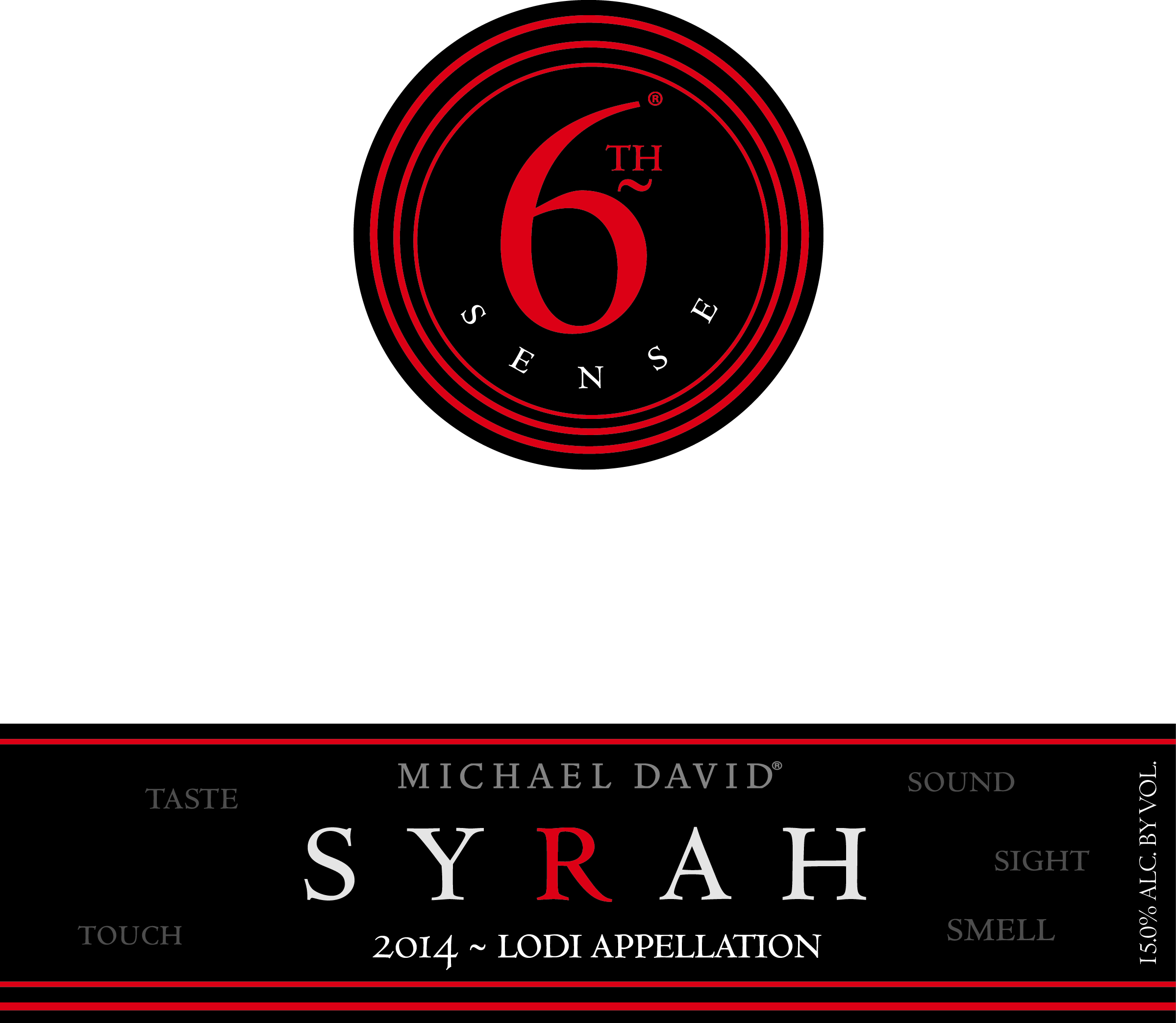 2014 Michael David Syrah 6th Sense