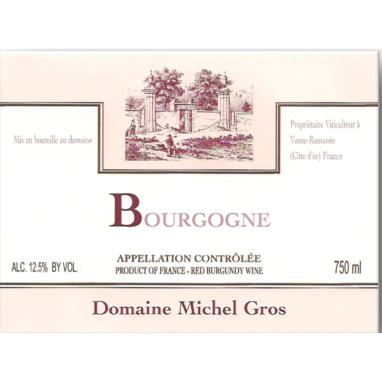 2014 Domaine Michel Gros Bourgogne Rouge