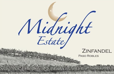Midnight Cellars Zinfandel Willow Creek District Estate