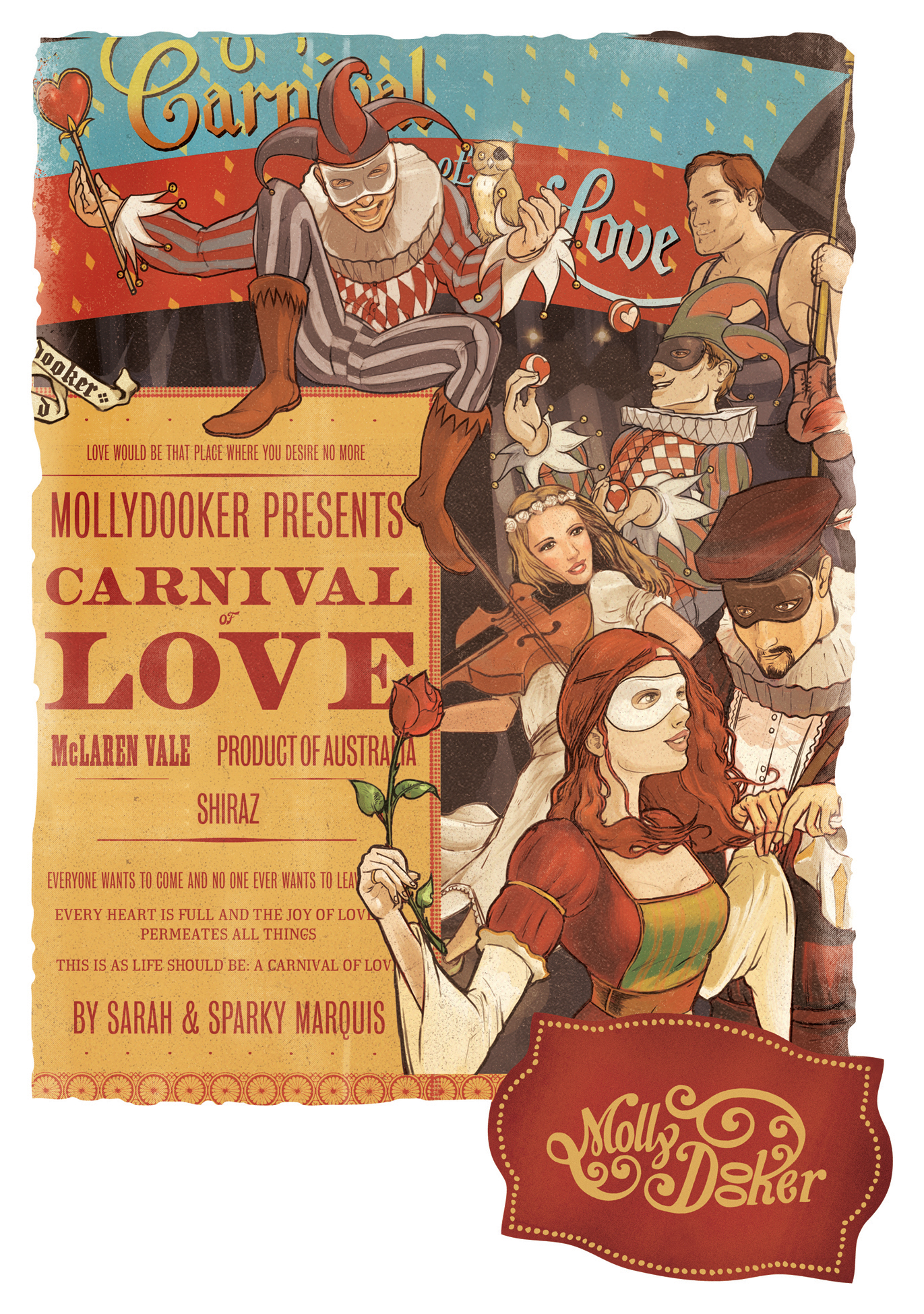 Mollydooker Shiraz Carnival of Love