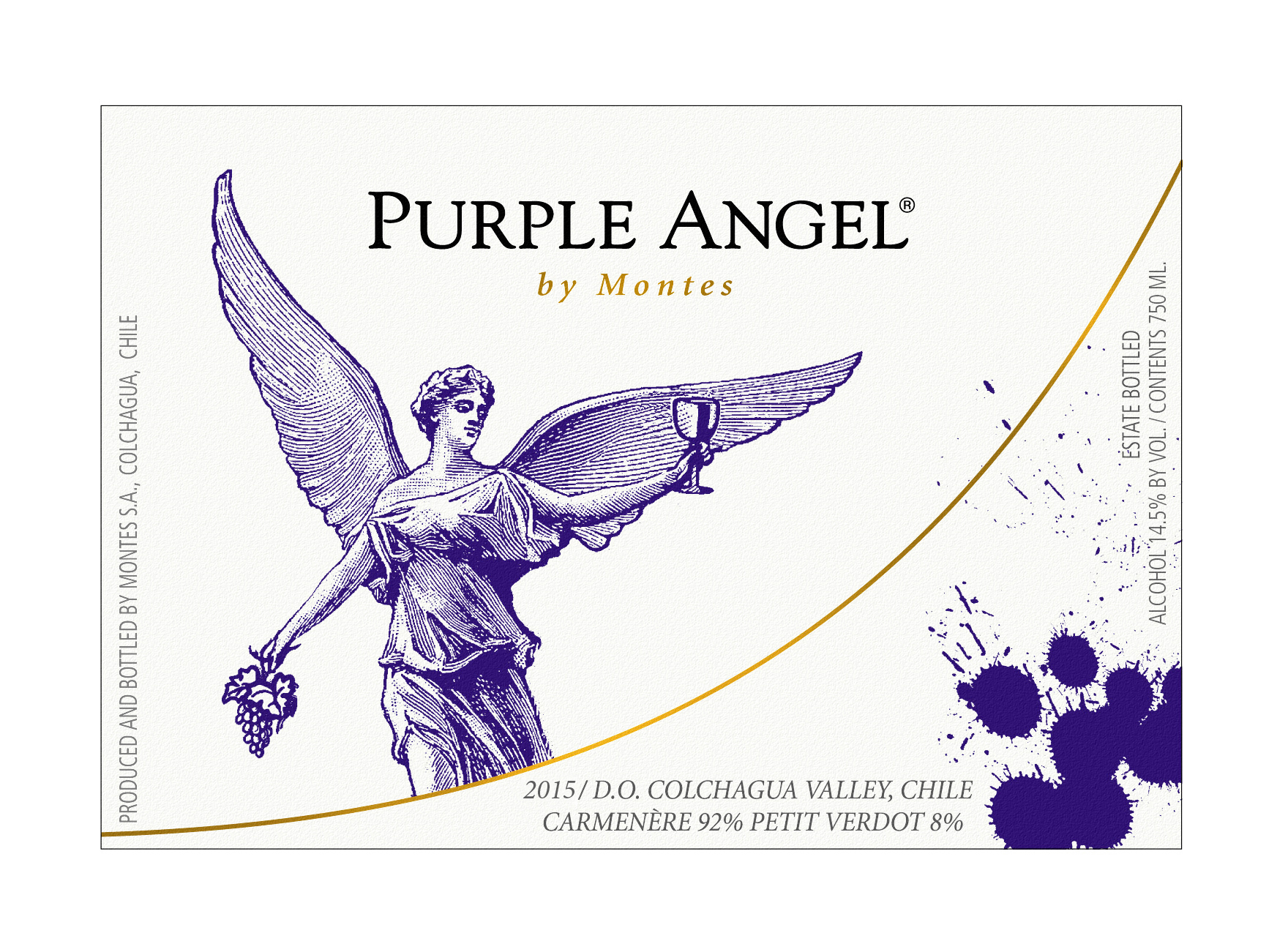 2015 Vina Montes Purple Angel