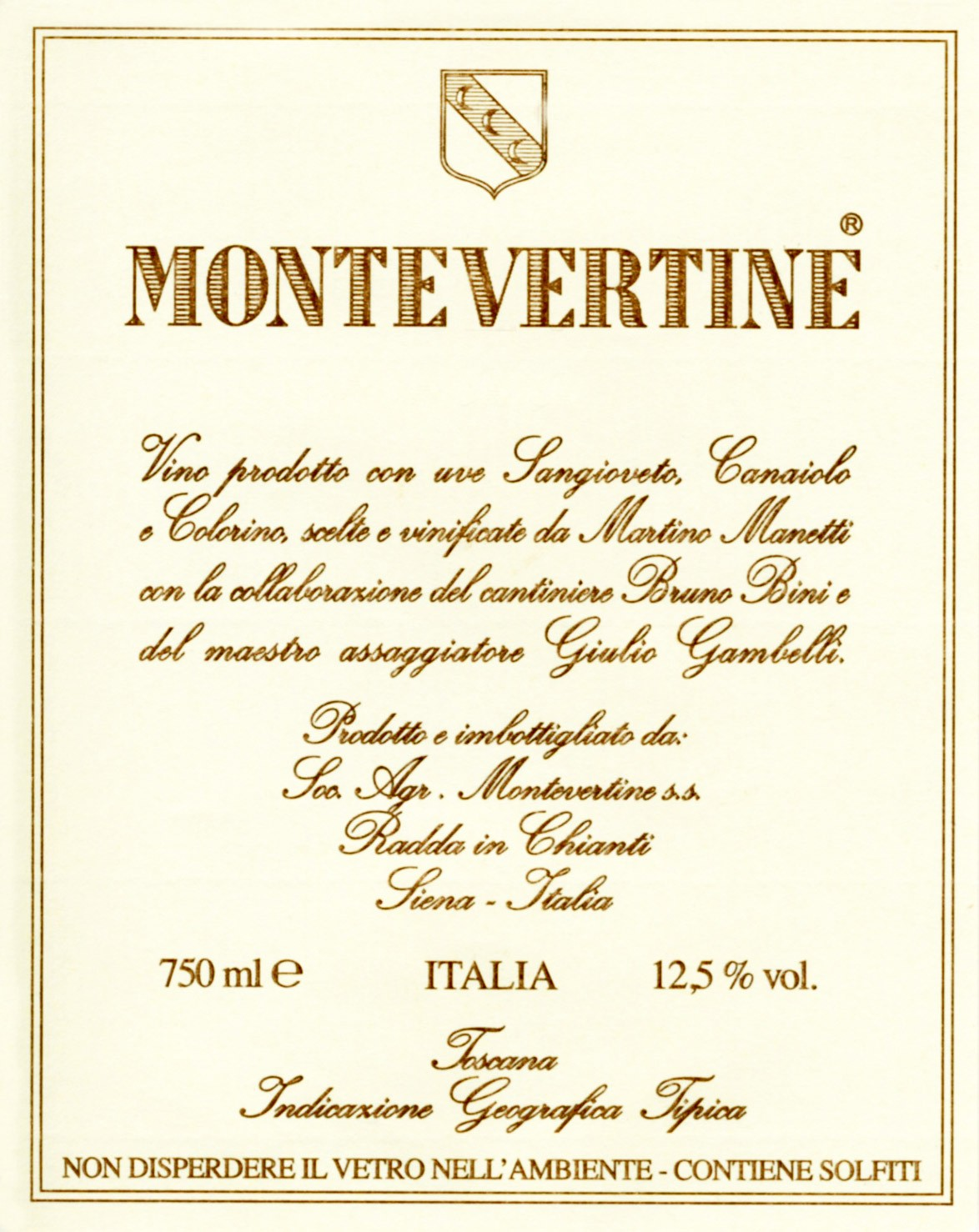 Montevertine Toscana IGT