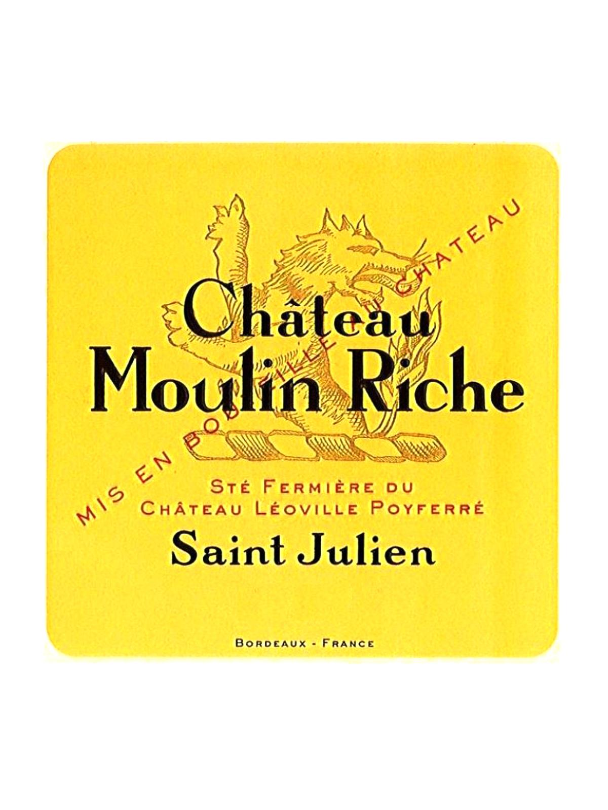 2010 Chateau Moulin Riche