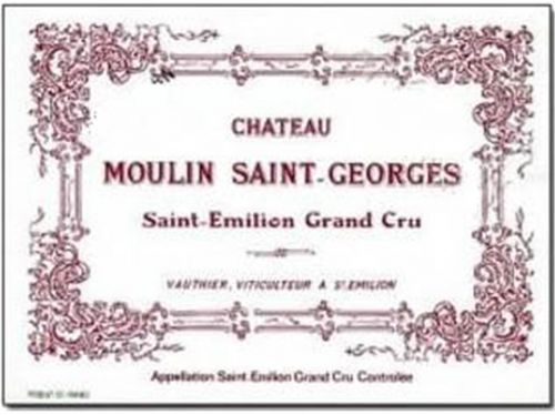 2005 Chateau Moulin Saint-Georges 3.0 L