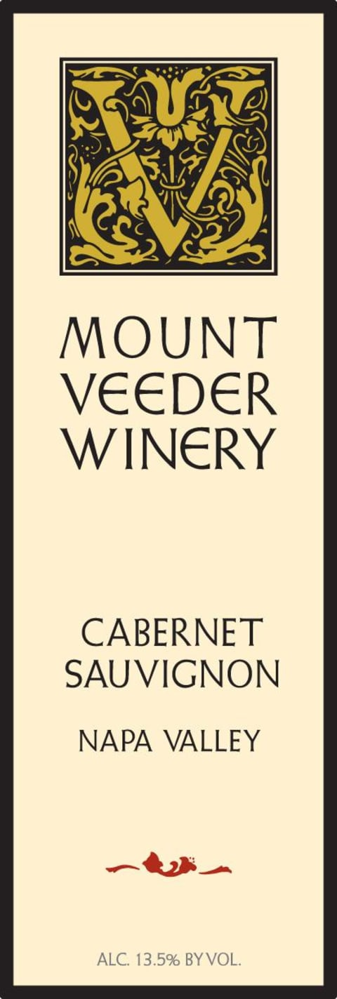 2014 Mount Veeder Winery Cabernet Sauvignon 375 ml