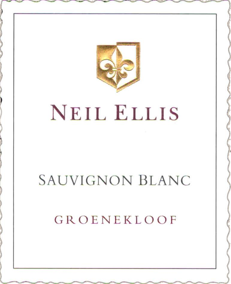 2015 Neil Ellis Sauvignon Blanc Vineyard Selection Groenekloof