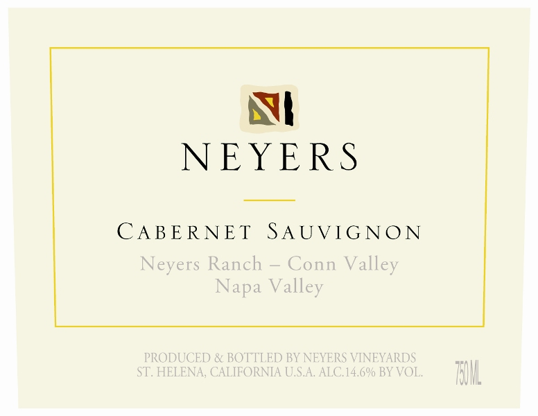 2013 Neyers Cabernet Sauvignon Neyers Ranch-Conn Valley