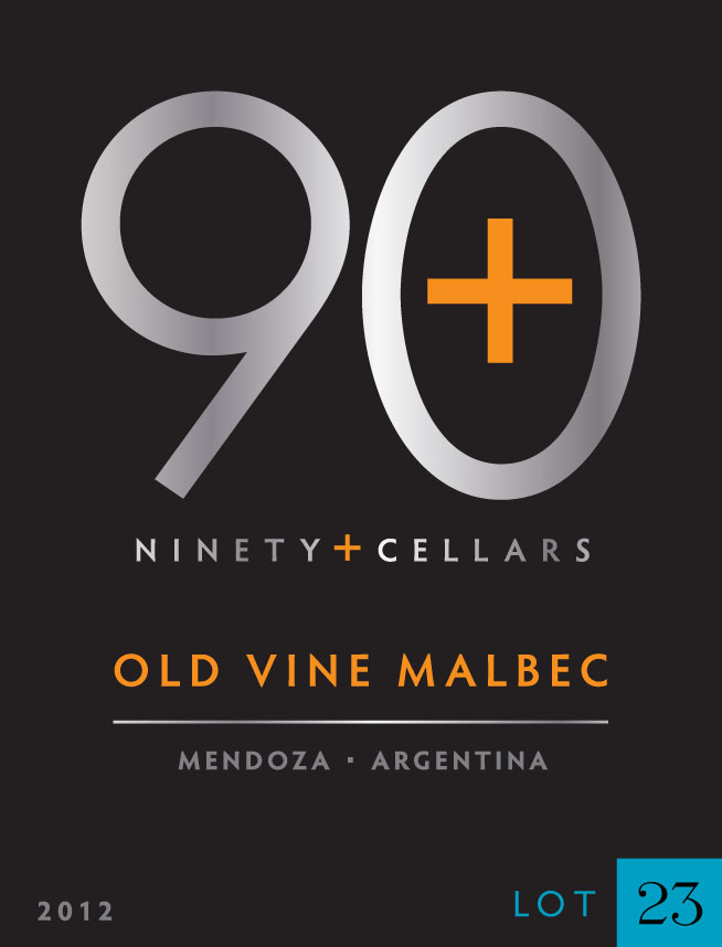 Ninety + Cellars Malbec Old Vine Lot #23