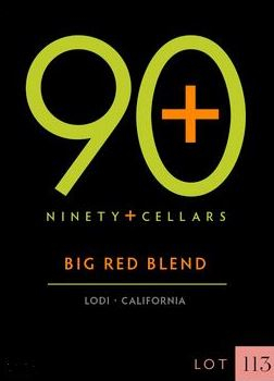 2015 Ninety + Cellars Big Red Blend Lot #113