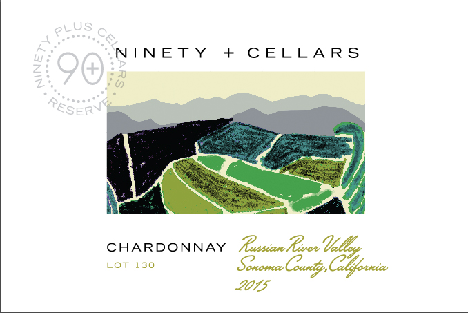 Ninety + Cellars Chardonnay Reserve Lot #130