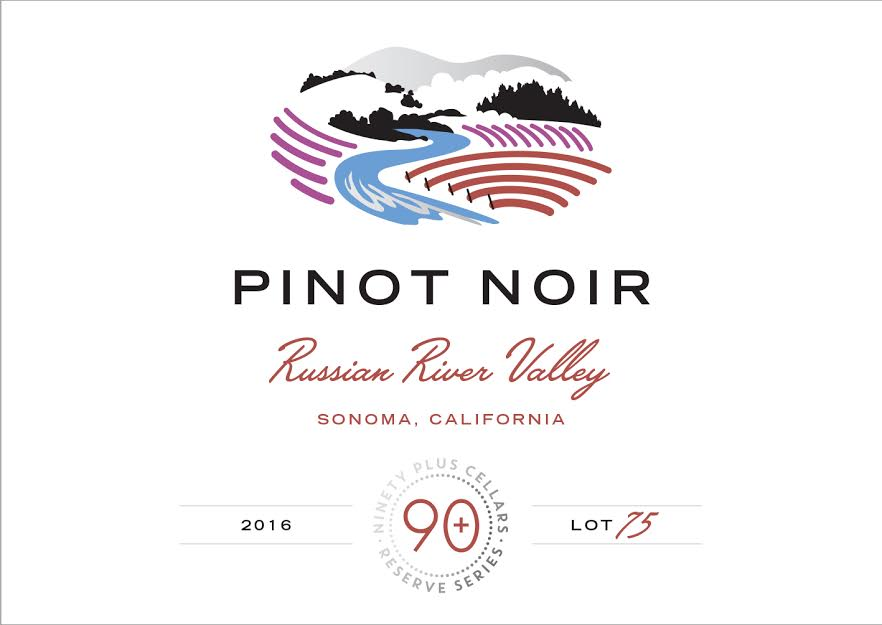 Ninety + Cellars Pinot Noir Reserve Lot #75