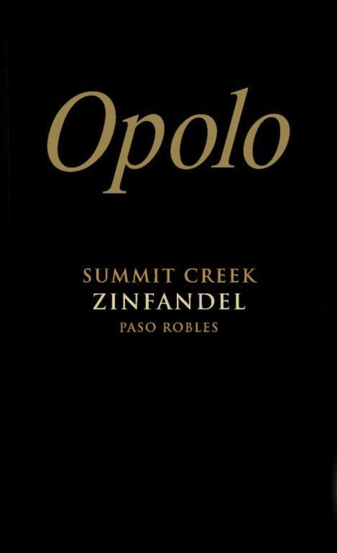 2017 Opolo Zinfandel Summit Creek