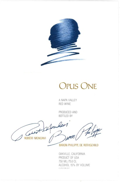 2013 Opus One Proprietary Red