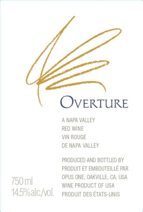 N.V. Opus One Proprietary Red Overture 2020 Release