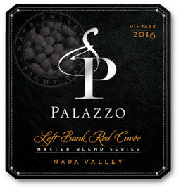 Palazzo Left Bank Master Red Blend