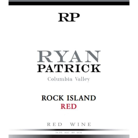 2016 Ryan Patrick Wines Rock Island Red