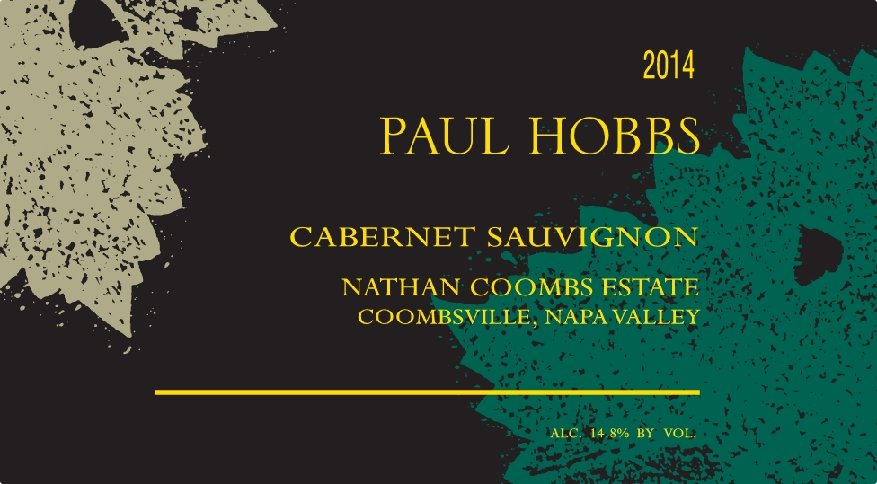 2014 Paul Hobbs Cabernet Sauvignon Nathan Coombs Estate