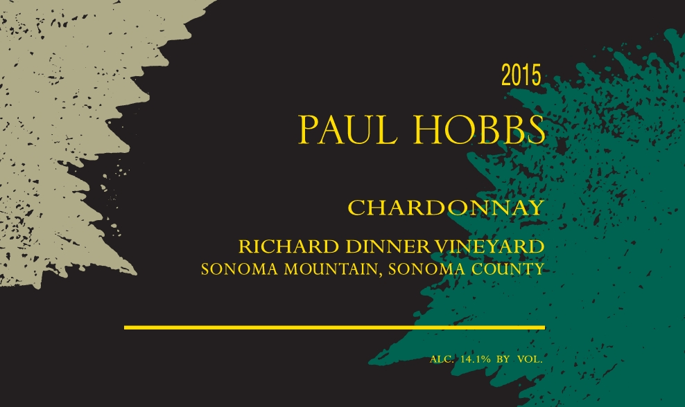 2015 Paul Hobbs Chardonnay Richard Dinner Vineyard