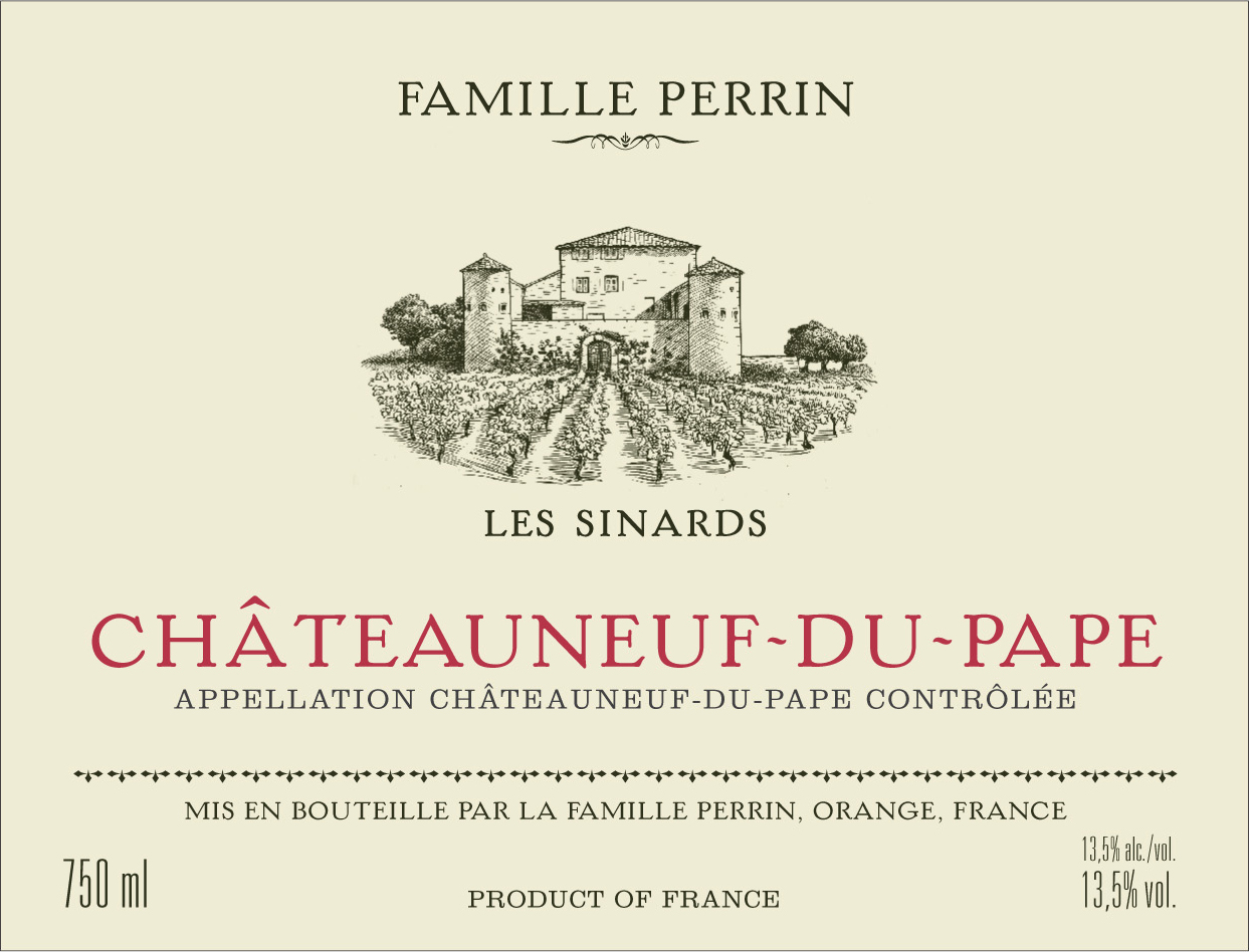 2017 Perrin & Fils Chateauneuf-du-Pape Les Sinards