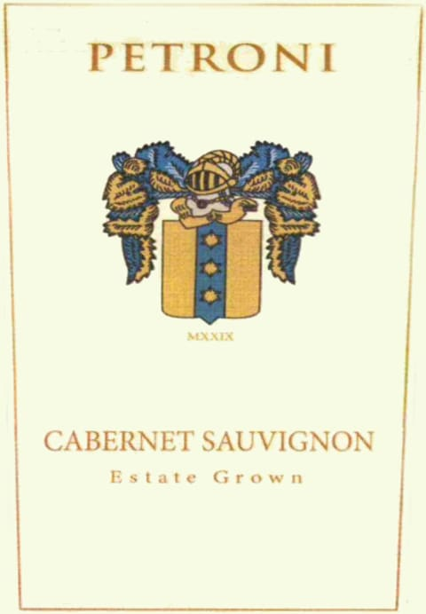 Petroni Cabernet Sauvignon Estate Moon Mountain District