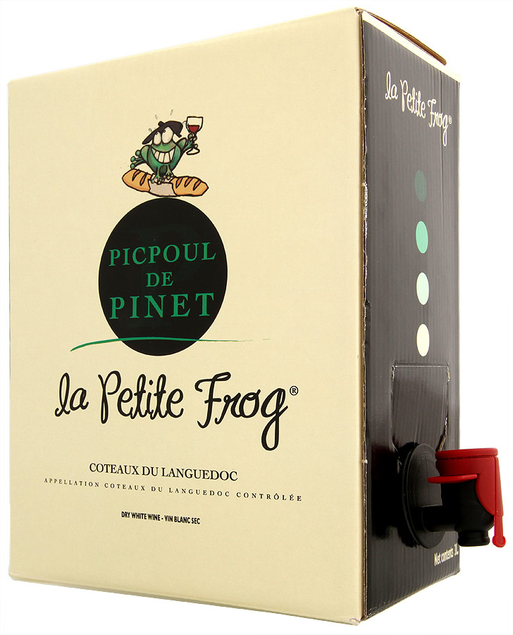 2017 Cave de Pomerols Picpoul de Pinet HB La Petite Frog Bag in Box 3.0 L