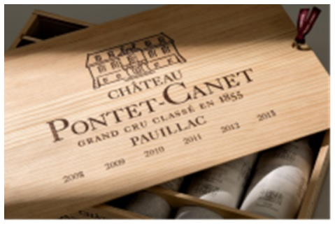 Chateau Pontet-Canet Assorted Vintage Gift Pack OWC