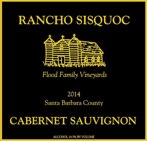 2014 Rancho Sisquoc Cabernet Sauvignon Flood Family Vineyard