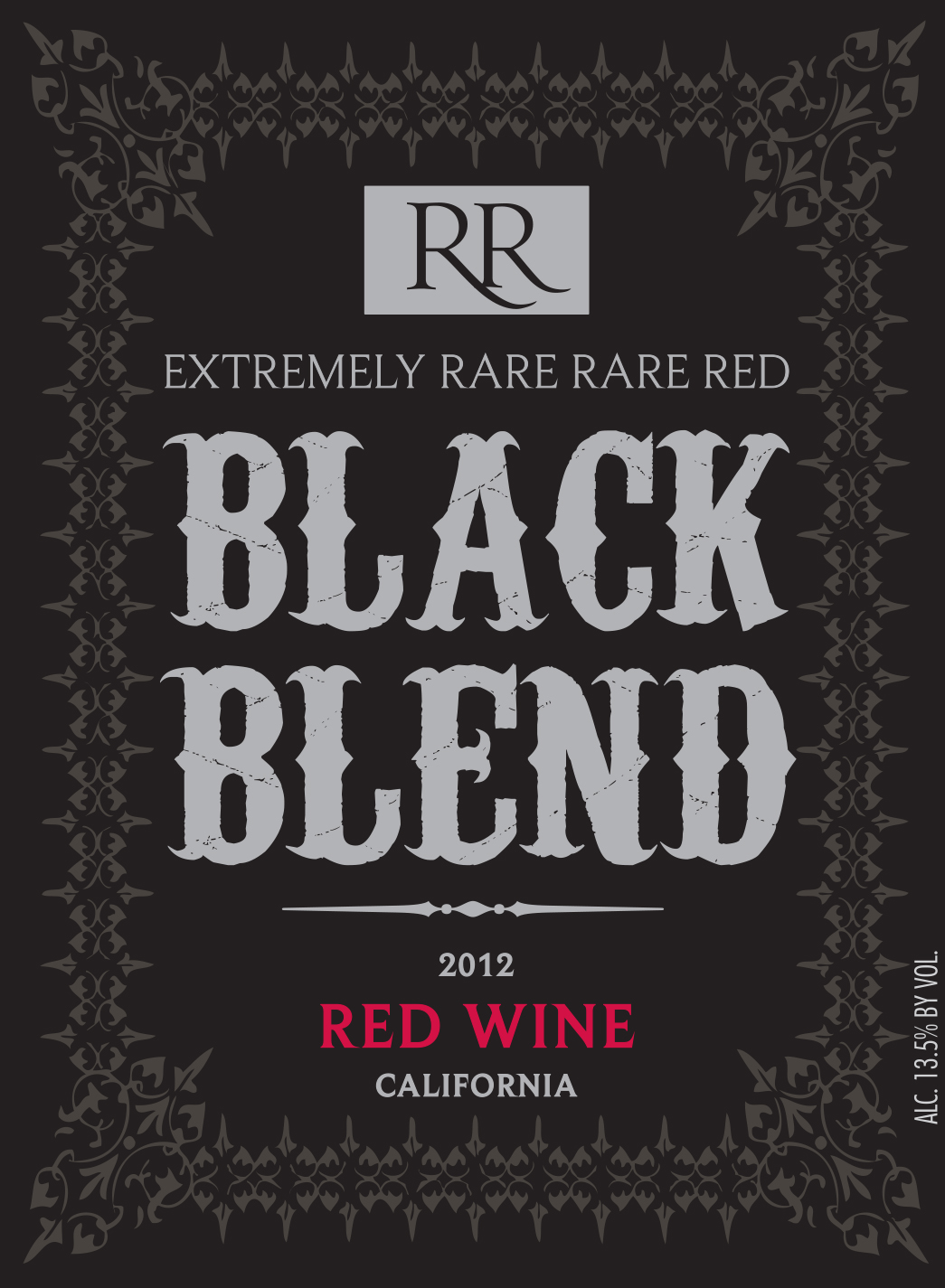 2012 Rare Red Extremely Rare Black Blend