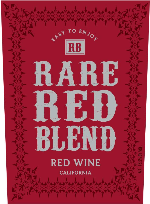 "Rare Red ""RR"" 4 Grape Blend"