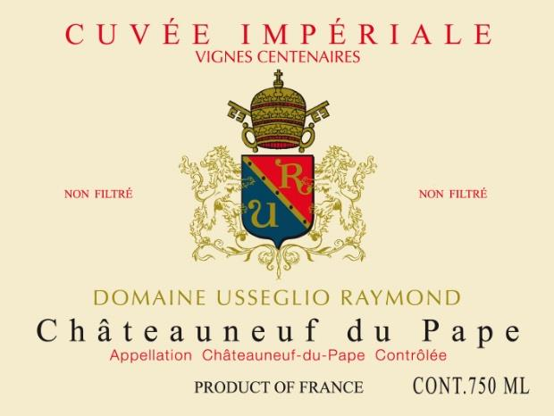 Domaine Raymond Usseglio Chateauneuf-du-Pape Cuvee Imperiale
