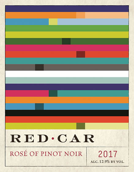 2017 Red Car Rose of Pinot Noir