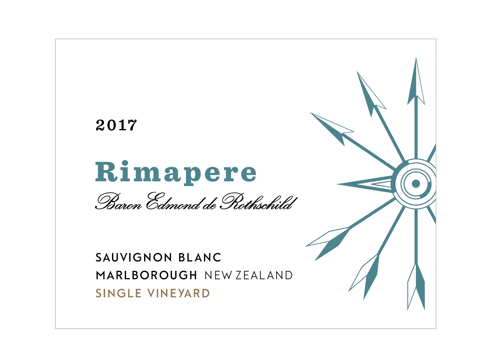 2017 Rimapere Sauvignon Blanc Single Vineyard