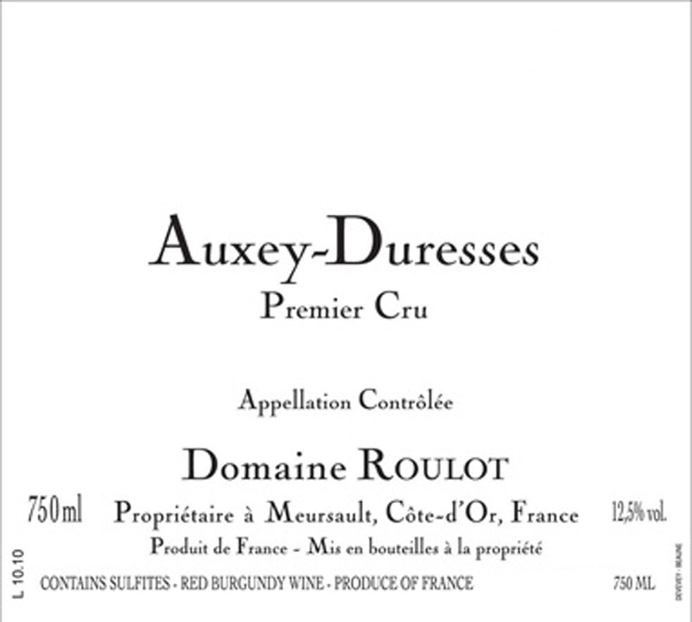 2016 Domaine Roulot Auxey-Duresses Rouge 1er Cru
