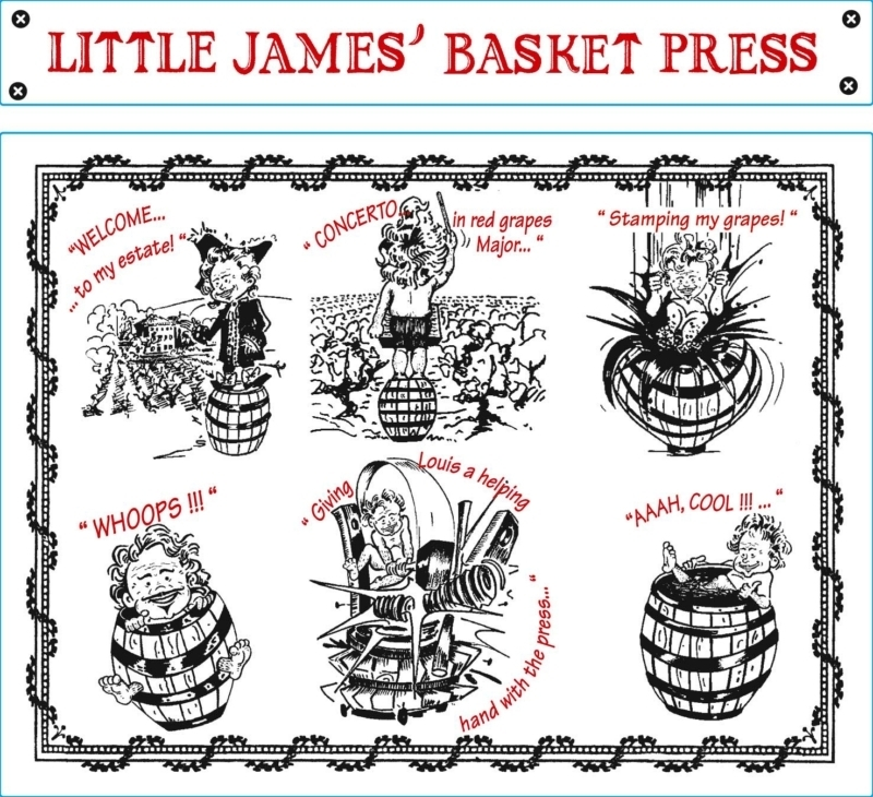 Chateau de Saint Cosme Little James' Basket Press Rouge