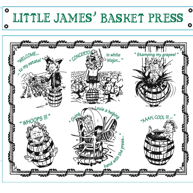 2016 Chateau de Saint Cosme Little James' Basket Press Blanc