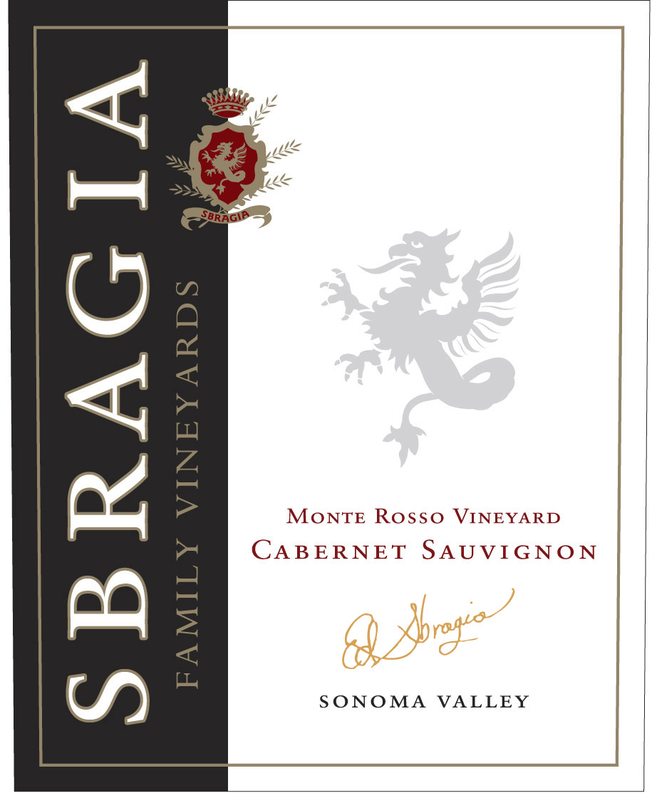 2015 Sbragia Family Vineyards Cabernet Sauvignon Monte Rosso Vineyard