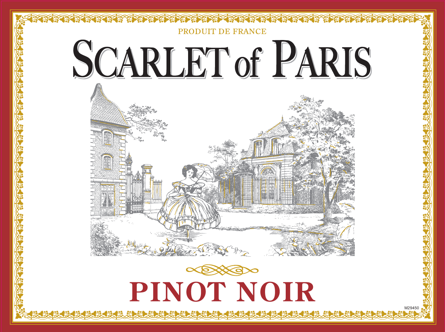 Scarlet of Paris Pinot Noir