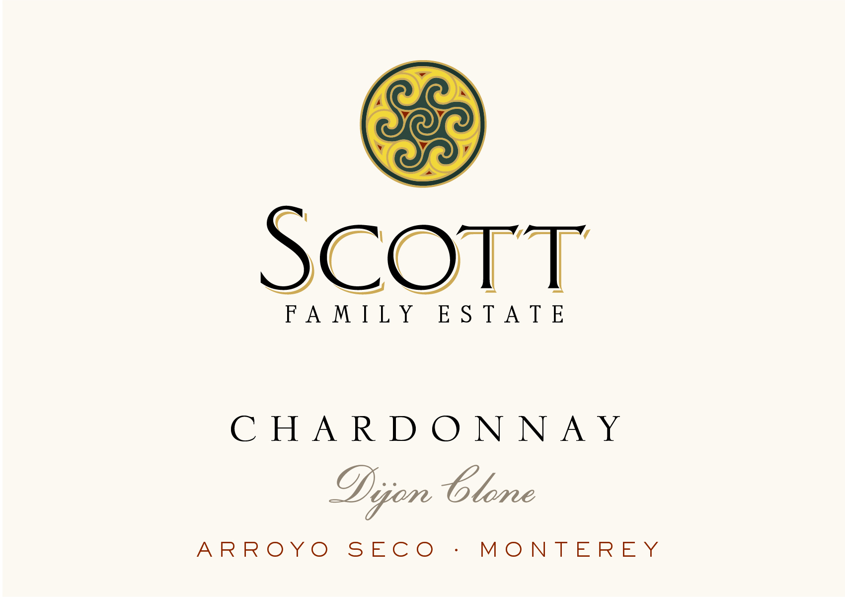 2016 Scott Family Estate Chardonnay Dijon Clone